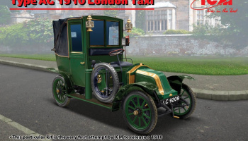 Type AG 1910 London Taxi 1/24 - ICM