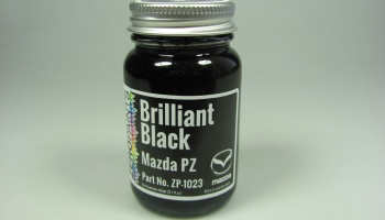 Mazda Brilliant Black Solid - Zero Paints