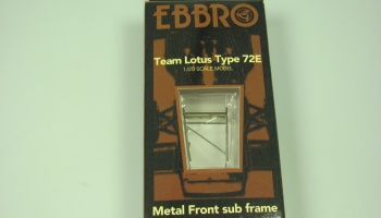 Team Lotus Type 72E 1973 front metal sub frame - Ebbro