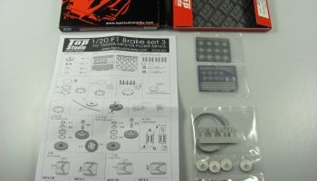 McLaren MP4/5 Brake Set 3 1:20 Top Studio