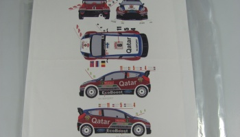Ford Fiesta WRC #4/5/6/11 Rally Montecarlo 2013 - Racing Decals 43