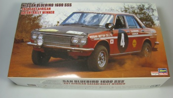 Nissan Bluebird 1600 SSS Safari Rally 1970 Winner - Hasegava