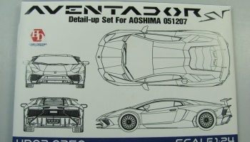 Lamborghini Aventador Detail Up Set - Hobby Design