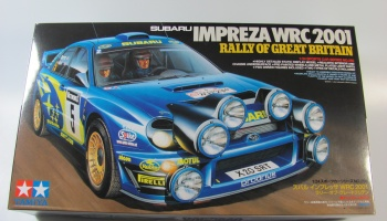 Subaru Impreza WRC 2001 Great Britain - Tamiya