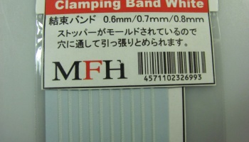Clamping Band White - Model Factory Hiro