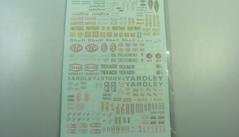 F1 Sponsor 1970´ Decal  - Model Factory Hiro