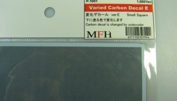 Varied Carbon Decal E - Model Factory Hiro