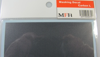 Masking Decal Carbon L - Model Factory Hiro