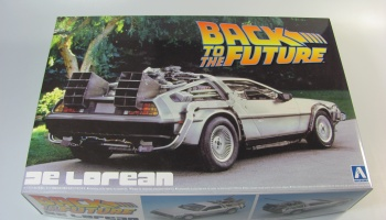 De Lorean Back To The Future - Aoshima