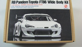 RB Pandem Toyota FT86 Wide Body Kit - Hobby Design
