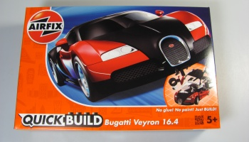 Bugatti Veyron Quick Build - Airfix