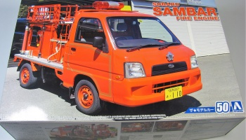 Subaru Sambar Fire Engine - Aoshima