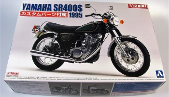 Yamaha SR400S + Custom Parts - Aoshima