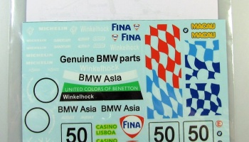 BMW 320i Fina 98 - Decalpool