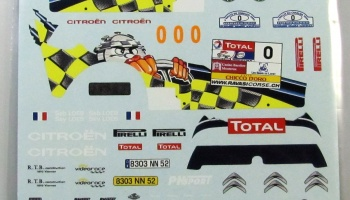 Citroen C2 S1600 S.Loeb 2009 - COLORADODECALS