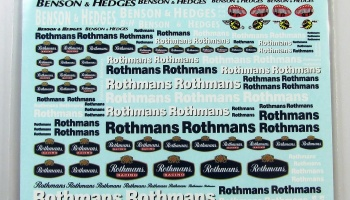 Logo Several Rothmans, Benson Hedges (UV PRINTING) - COLORADODECAL