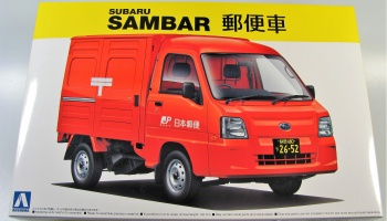 Subaru Sambar Post Car - Aoshima