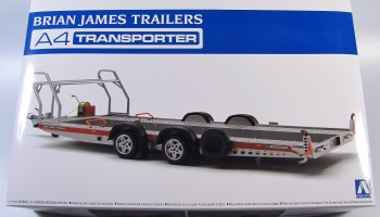 Brian James Trailer A4 Transporter - Aoshima