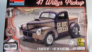 Willys Pickup - Monogram