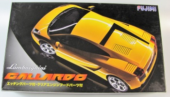 Lamborghini Gallardo DXw + Photo Etched Parts - Fujimi
