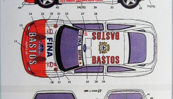 Ford Escort RS Bastos - Studio27
