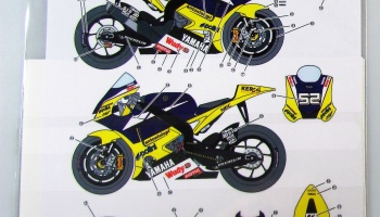 Yamaha YZR M1 Team Tech3 2008 Moto GP - Studio27