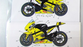 Yamaha YZR M1 Tech - Studio27