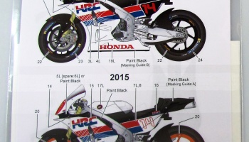 Honda RC213V Demo Run Motegi 2015/2016 - Studio27