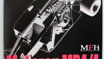 McLaren MP4/4 in Detail - Model Factory Hiro