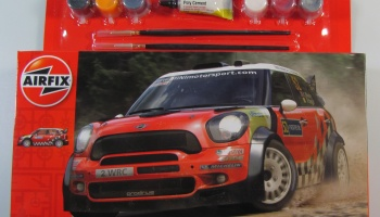 Mini Countryman WRC Starter Set - Airfix