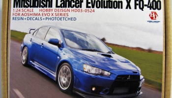 Mitsubishi Lancer EVO X FQ-400 for Aoshima - Hobby Design