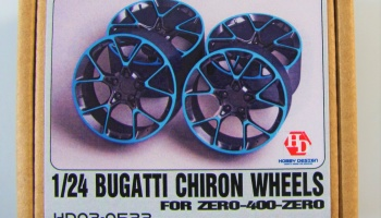 Bugatti Chiron Wheels - Hobby Design