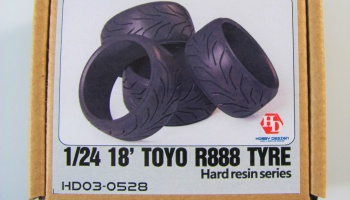 Toyo R888 Tyre 18inch - Hobby Design