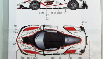 Ferrari FXX K Dress Up Decal - Studio27