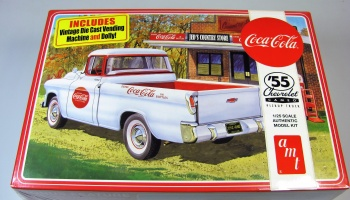 Chevy Cameo Pickup Truck 1955 Coca-Cola - AMT