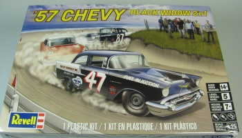 Chevy Black Vidow Stock Race Car - Revell
