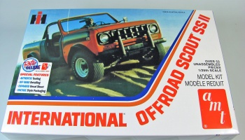 International Off Road Scout SS II Truck - AMT