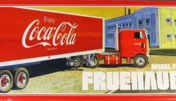 Fruehauf Van Model FB Coca Cola Trailer - AMT