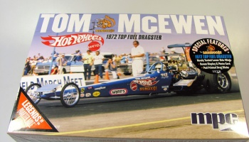 Tom Mongoose McEven Top Fuel Rear Engine Dragster - MPC
