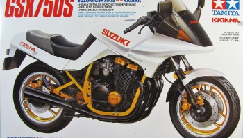 Suzuki GSX750S New Katana (1:12) Model Kit 14034 - Tamiya