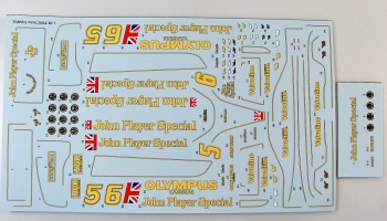 Lotus 79 Full Decal for Tamiya - E.JAN