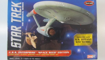 Star Trek Enterprise Space Seed Edition SS Botany Bay - Polar Lights