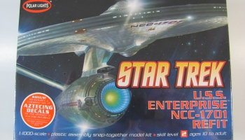 Star Trek USS Enterprise NCC1701 - Polar Lights
