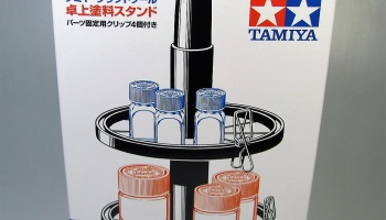 Paint Jar Stand - Tamiya