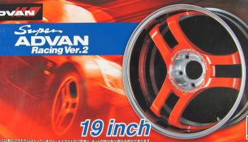 Super Advan Racing V2 19inch - Aoshima