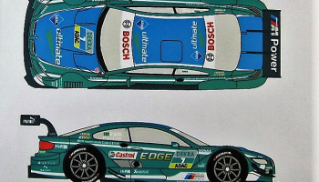 BMW M3 DTM #7 Farfus Castrol EDGE 2013 - Racing Decals 43