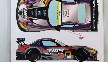 BMW Z4 GT3 #60 SGT 2014 - Racing Decals 43