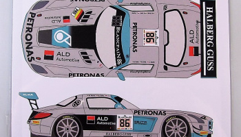 Mercedes SLS GT3 #86 Spa 24h 2014 - Racing Decals 43