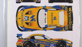 BMW Z4 GT3 #94 Rolex 24h Daytona 2014 - Racing Decals 43