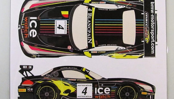 BMW Z4 GT3 #4 Baku World Challenge 2013 - Racing Decals 43